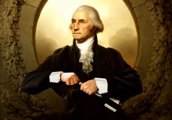 George Washington spent about 7% of his annual salary on booze.