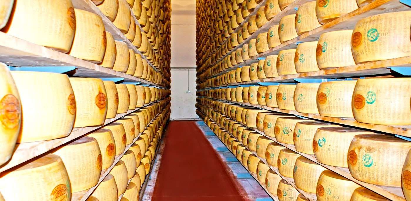 There is a bank in Italy that accepts Parmigiano cheese as collateral for small business loans.