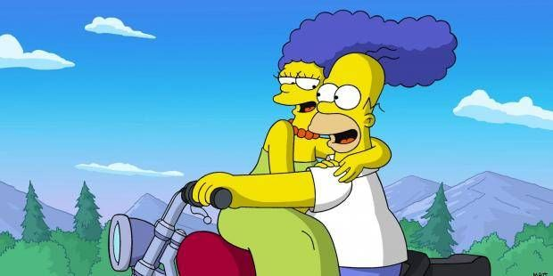Marge Simpson was originally supposed to have bunny ears underneath her blue hair.