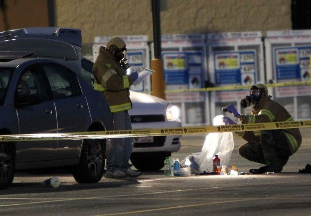 Since 2011, there have been at least 4 incidents of people cooking meth inside of a Walmart.
