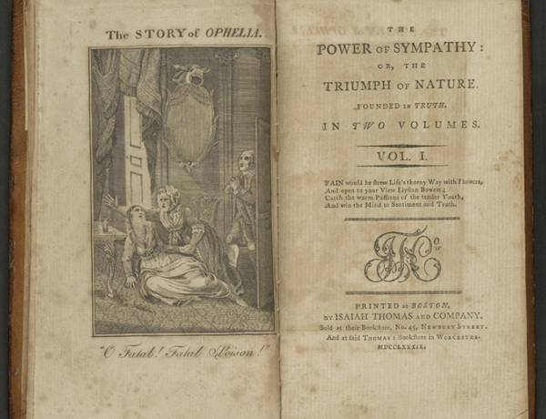"William Hill Brown is generally believed to have written the first American novel, ""The Power of Sympathy,"" published in Boston in 1791, which relates a tragic love story."