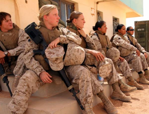 Women serving in the U.S. military are more likely to be raped by a fellow soldier than killed by enemy fire.