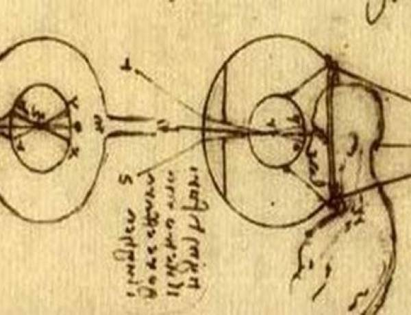 The idea of contact lenses was first introduced by Leonardo da Vinci in 1508.