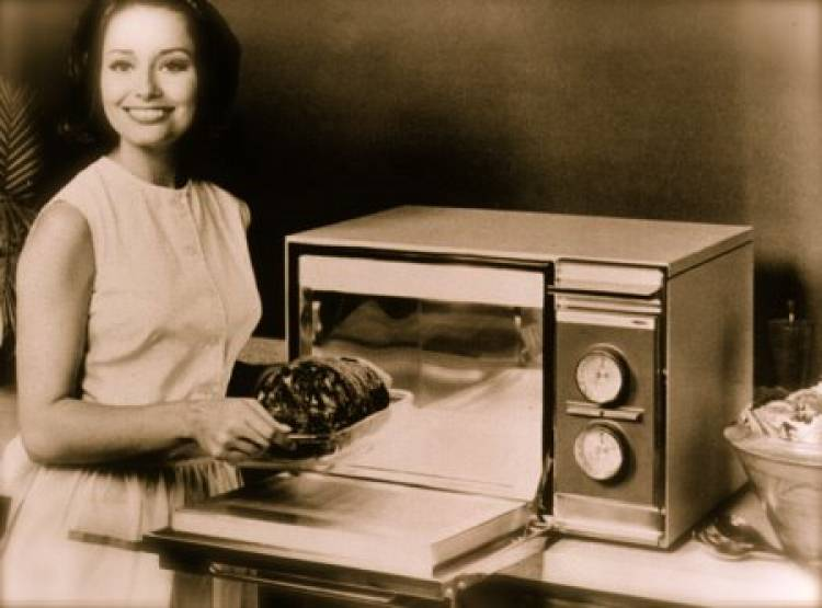 The microwave was invented after a researcher walked by a radar tube and a chocolate bar melted in his pocket.