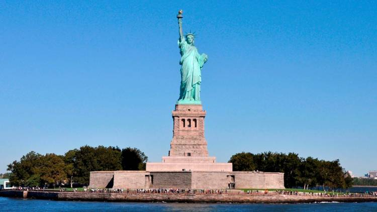 The Statue of Liberty's full name is a bit of a mouthful 'Liberty Enlightening The World'.