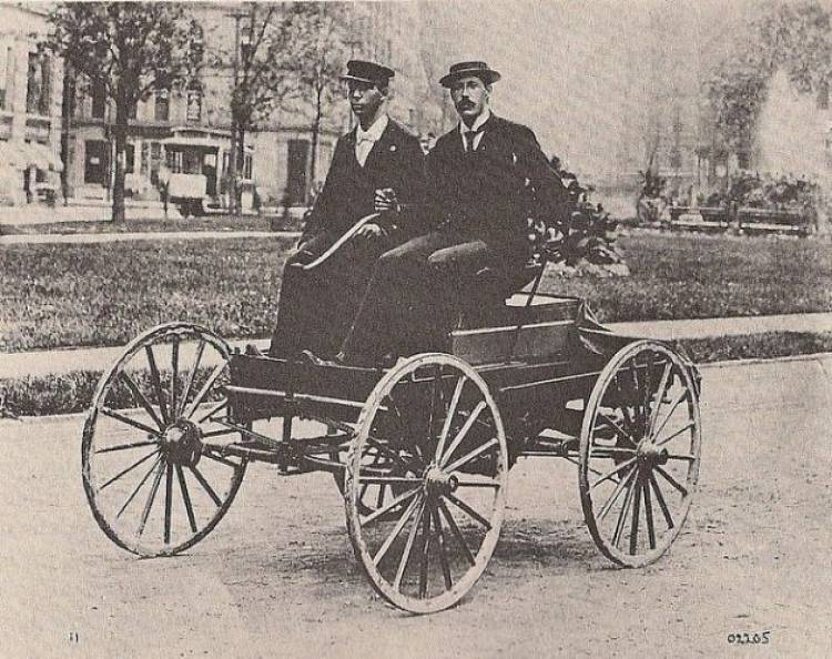 "On this date, March 6, 1896, Charles Brady King drove the first automobile in Detroit, several months before Henry Ford piloted his first car. The following day, the Detroit Free Press reported: ""The first horseless carriage seen in this city was out on the streets last night."