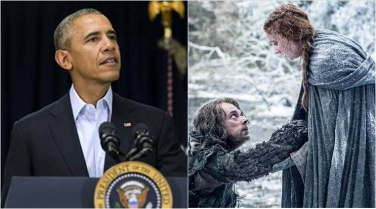 President Obama gets to watch advanced episodes of 'Game of Thrones' episodes before the rest of the world.