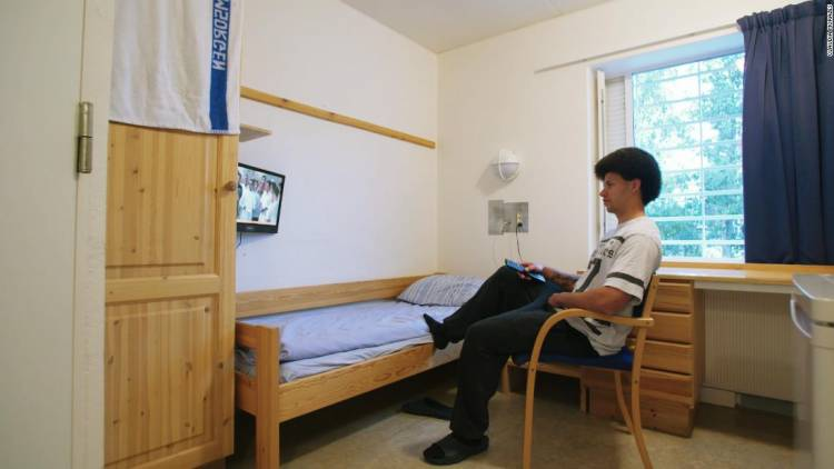 In Norway, all prisoners have access to the internet, even in their cells.