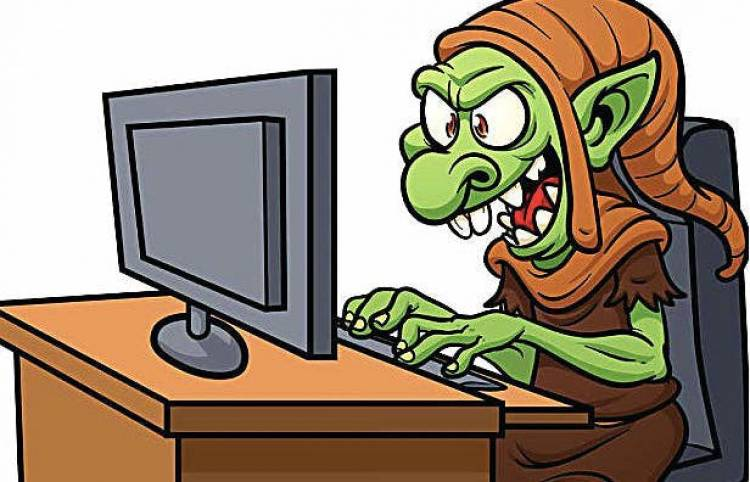 Psychologists examined Internet trolls and found that they are narcissistic, psychopathic, and sadistic.