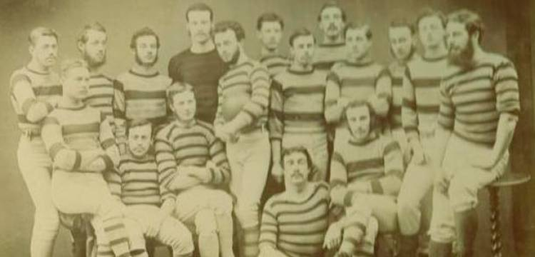 The first rugby club was formed in 1843.