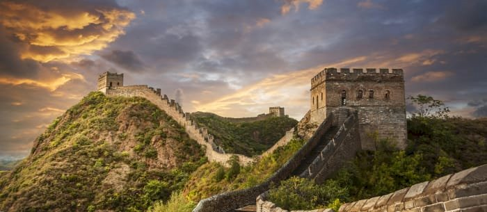 It is estimated that up to 1 million people died while constructing the Great Wall of China.