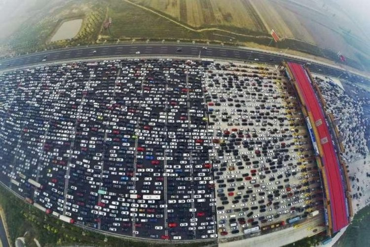 In 2010, there was a major traffic jam in China that lasted for 12 days.