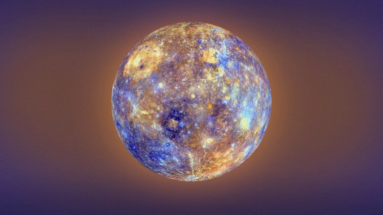 A single year lasts only 88 days on Mercury, but thanks again to its slow rotation, a day lasts twice as long!
