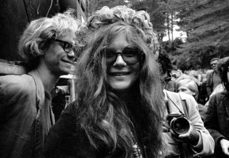 "Janis Joplin left $2,500 in her will for her friends to ""have a ball after I'm gone""."