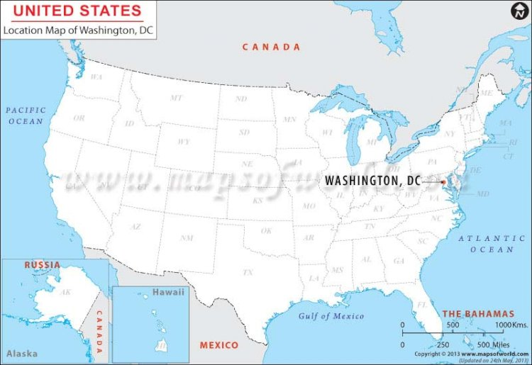 The D.C. in Washington D.C. stands for District of Columbia.